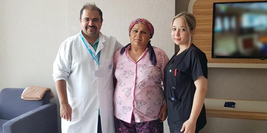 Rahim tümöründen kurtuldu