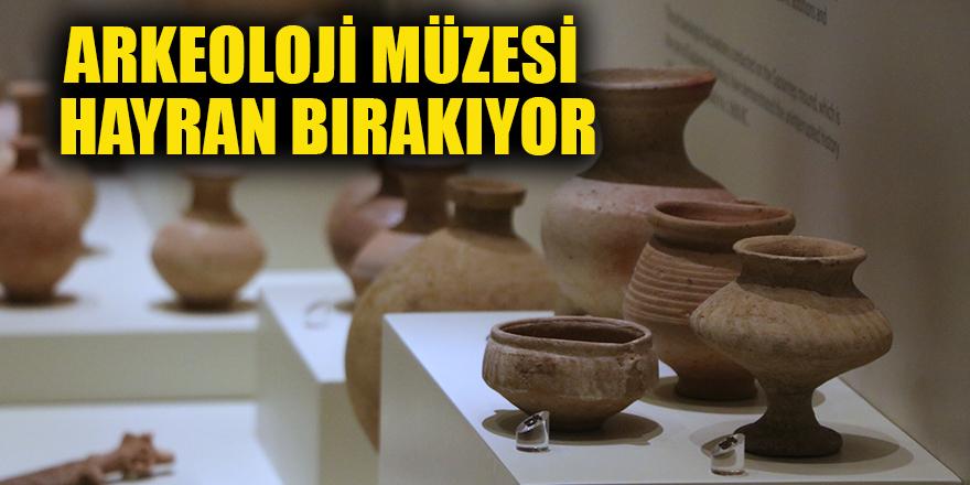 Arkeoloji Müzesi hayran bırakıyor