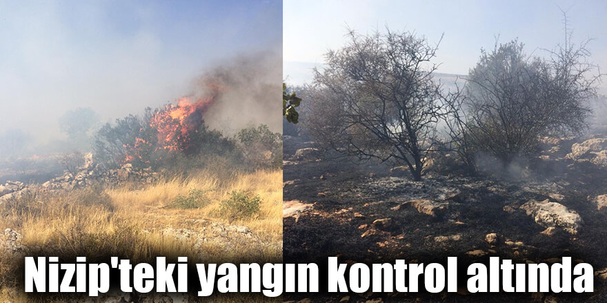 Nizip'teki yangın kontrol altında