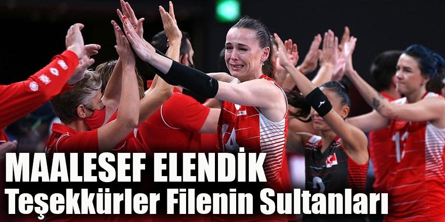Teşekkürler Filenin Sultanları