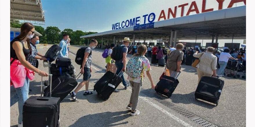 Türkiye'ye 4 milyon 36 bin turist geldi