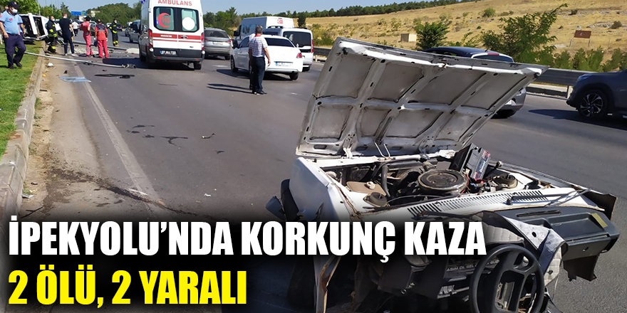 İpekyolu'nda korkunç kaza