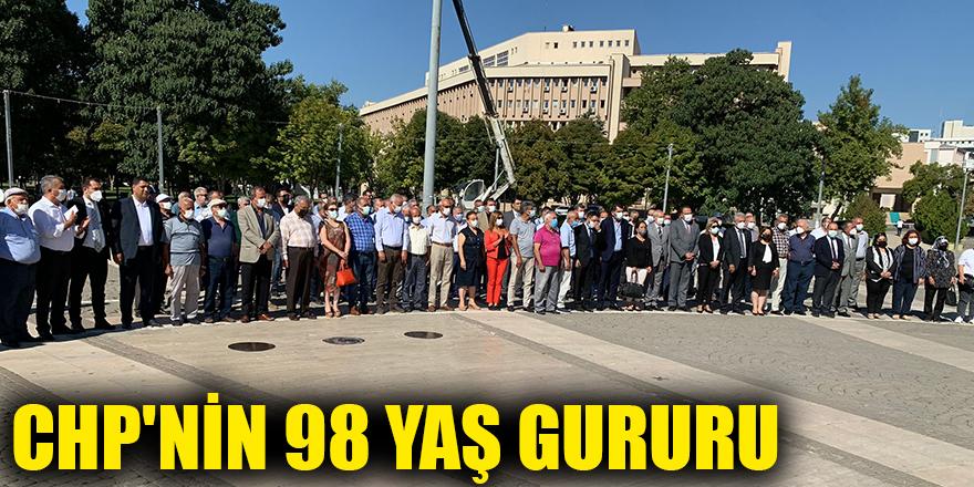 CHP'nin 98 yaş gururu