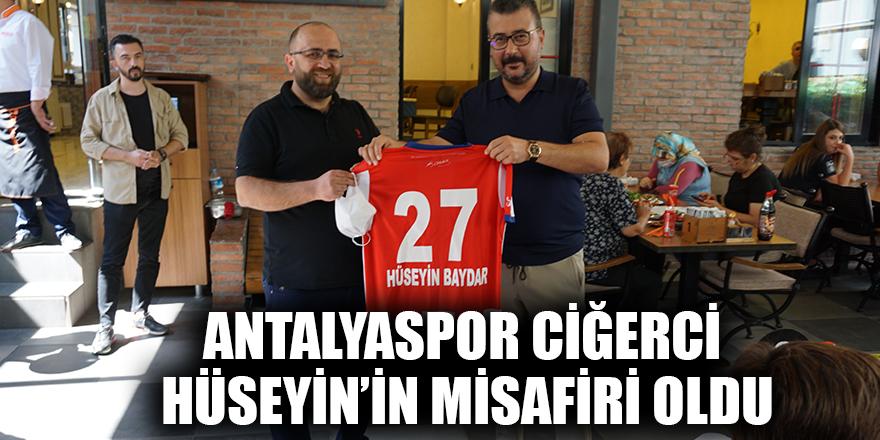 Antalyaspor Ciğerci Hüseyin'in misafiri oldu