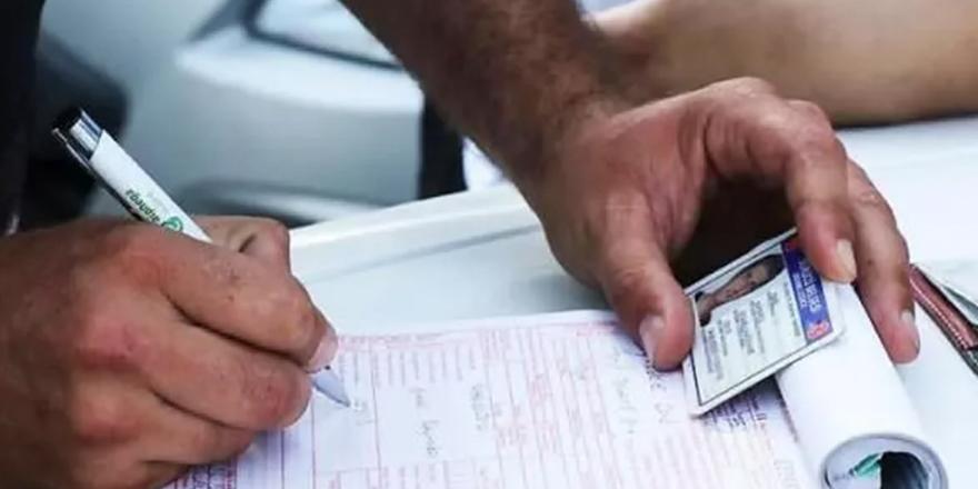Trafik cezasında 'tebligat' ayarı