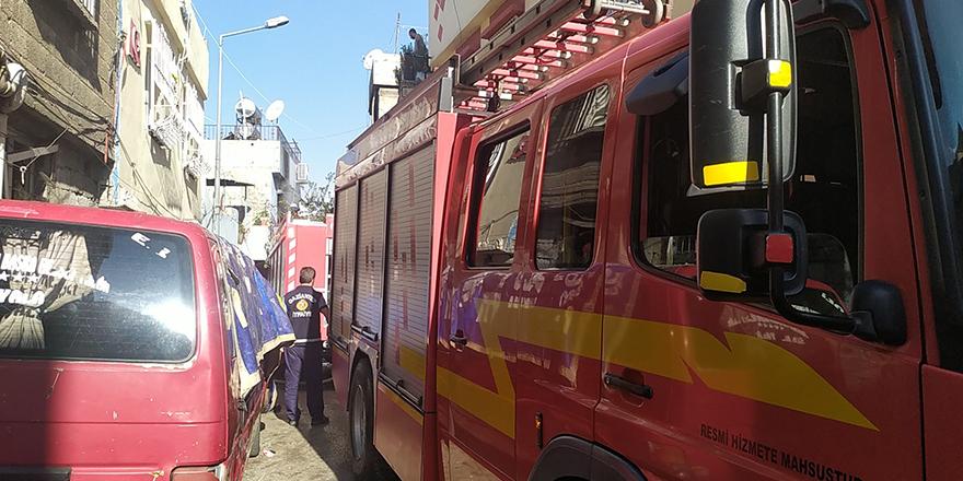 Hacıbaba'da korkutan yangın