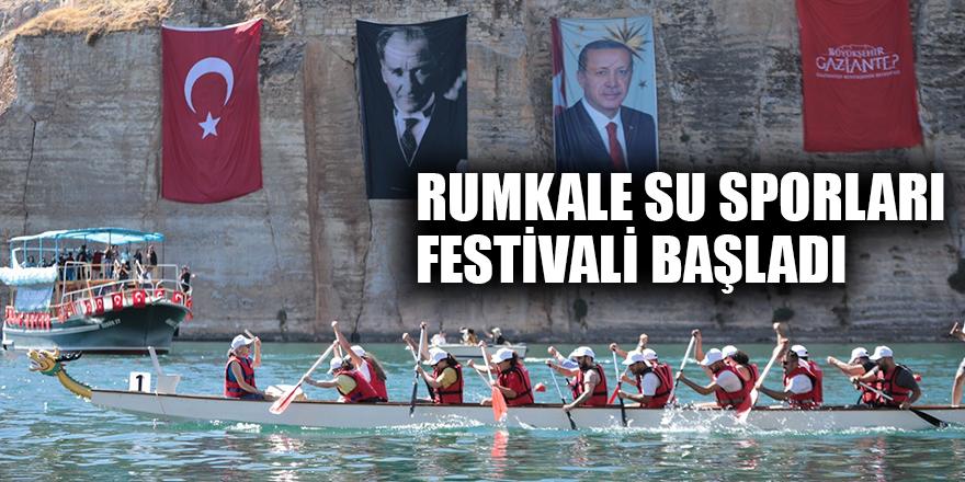 Rumkale Su Sporları Festivali başladı