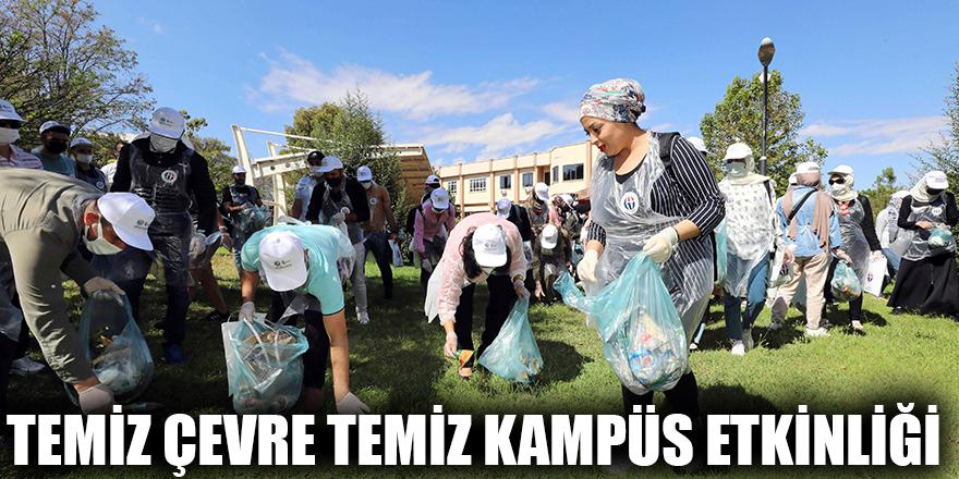 Temiz çevre temiz kampüs etkinliği
