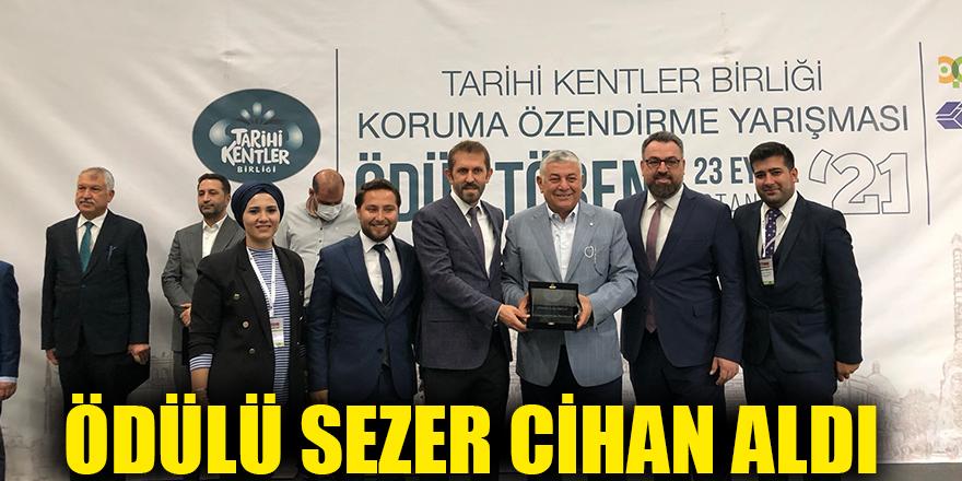 Ödülü Sezer Cihan aldı