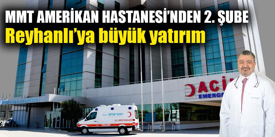 MMT AMERİKAN HASTANESİ'NDEN 2. ŞUBE