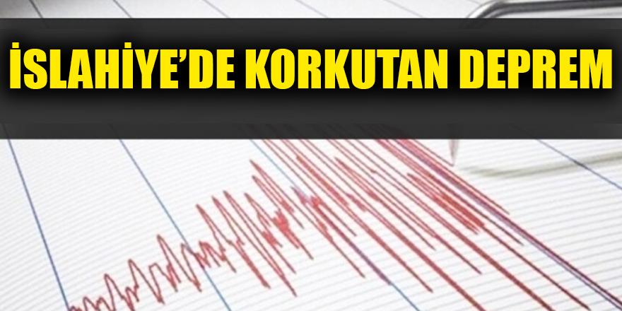 İslahiye'de deprem