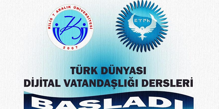 Türk Dünyası Dijital vatandaşlığı dersleri başladı