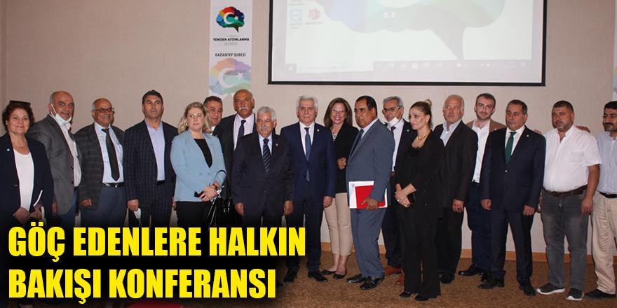 Göç edenlere halkın bakışı konferansı