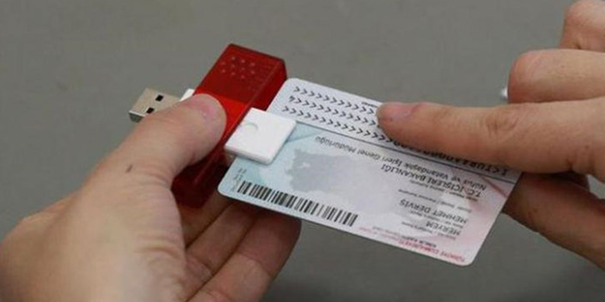 Kimlik kartlarına  e-imza sertifikaları entegre edildi