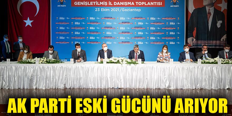 AK Parti eski gücünü arıyor