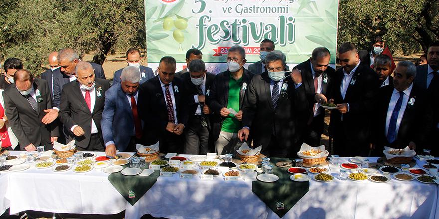 Zeytin ve Zeytinyağı Festivali'ne büyük ilgi