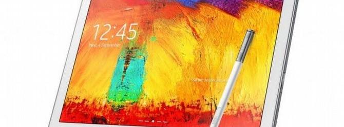 Galaxy Note 10.1 2014 testte!