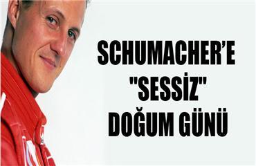 Schumachere sessiz doğum günü