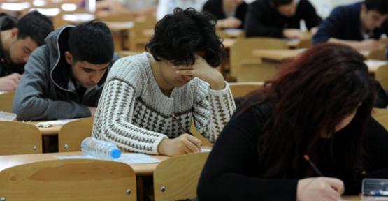 Yükseköğretime Geçiş Sınavına başvuruları...