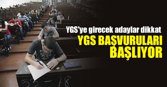 YGS başvuruları başlıyor