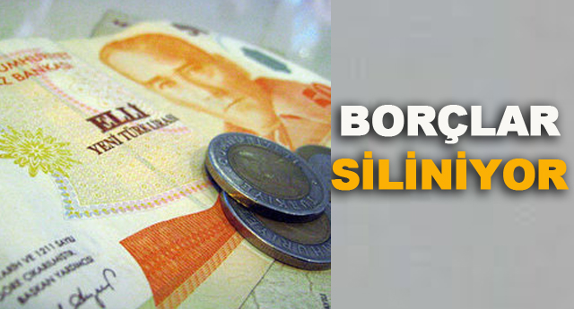 4 milyon kişinin borcuna af geliyor!