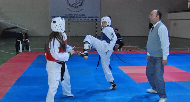 Taekwondo il seçmeleri yapıldı