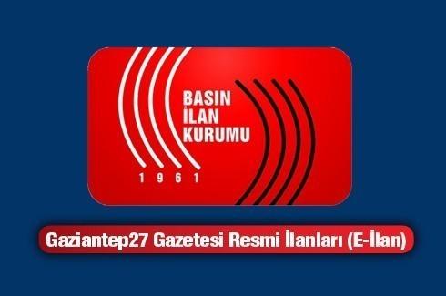 06.01.2014 RESMİ İLAN