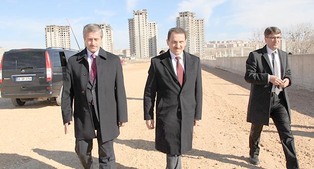 Atalay Şahinbey\'i gezdi