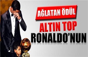 2013 FIFA Altın Top Ronaldonun oldu