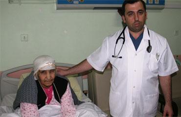 Iğdırda ilk defa bir hastaya kalıcı kalp pili takıldı