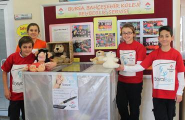 Bahçeşehir Kolejinin anaokulu yenileme projesi Bursada