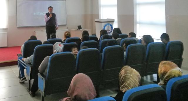 Konak Mahallesi\'nde  bağımlılık konferansı