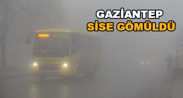 GAZİANTEP\'TE YOĞUN SİS
