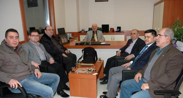 Türk Ocakları\'ndan ziyaret