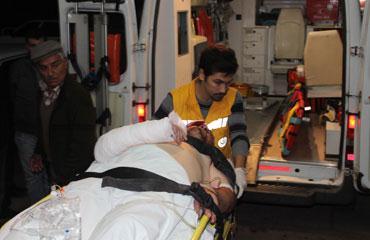 Antalyada kaza: 1 ölü, 1 yaralı