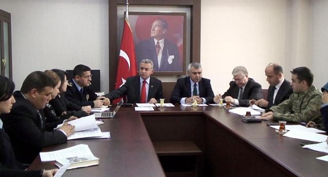 Güvenlik komisyonu toplandı