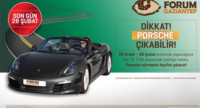 Porsche sahibini arıyor!