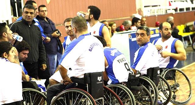 Engelli basketçiler Şanlıurfa\'yı ağırlıyor