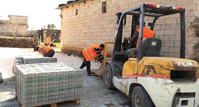 Köylere kilit taşı çalışması