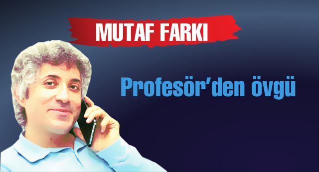Mutaf hakkında hangi profesör yorum yaptı?