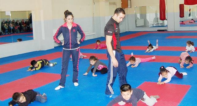 Cimnastik heyecanı başladı