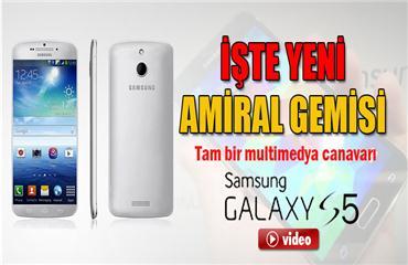 İşte Samsungun yeni yıldızı Galaxy S5