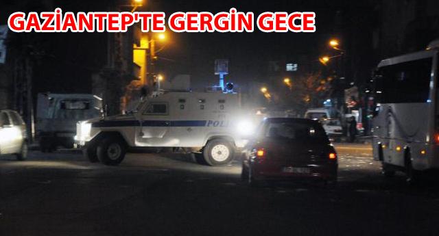 POLİSE TAŞLI SALDIRI