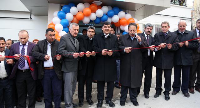 Başak konakları spor tesis açıldı