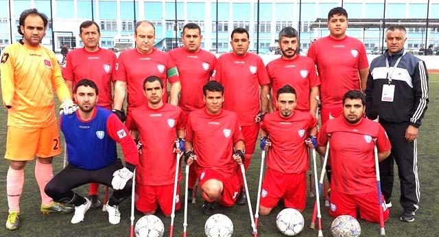 Ampute Konya'dan lider döndü 0 – 3
