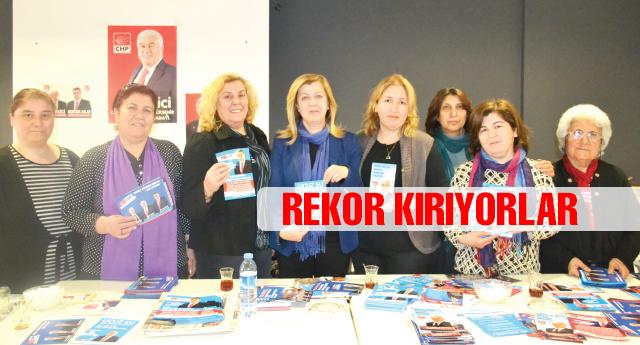 CHP'li kadınlar boş durmuyor