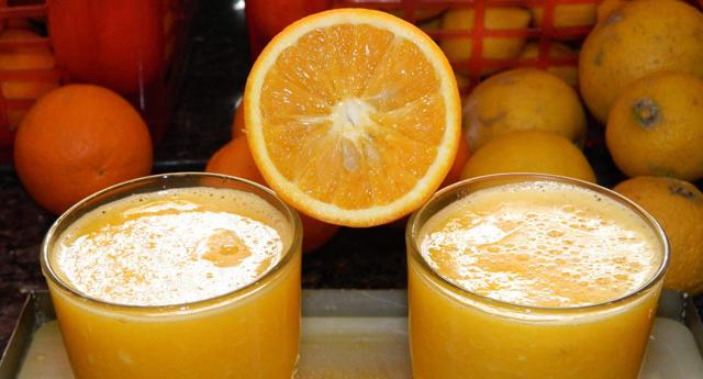 Portakal suyu çok faydalı