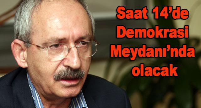 Kılıçdaroğlu bugün Gaziantep'te