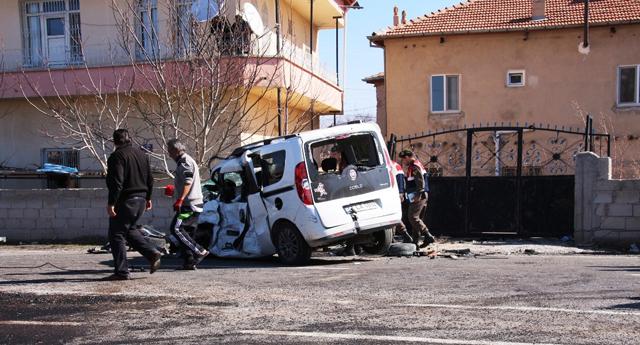 Öğrenciler kaza kurbanı