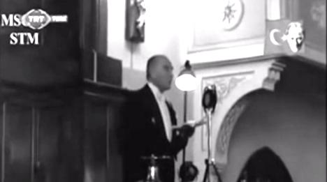 Atatürk'ü ilk kez böyle gördük